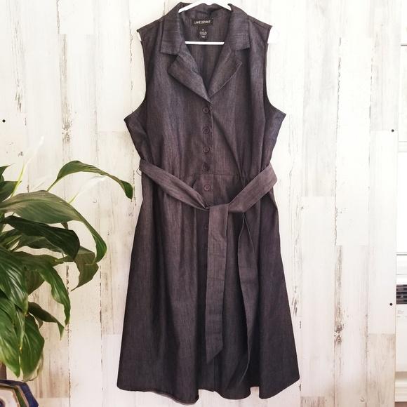 Lane Bryant Dresses & Skirts - Lane Bryant Denim like Dress